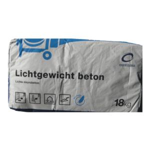 Lichtgewicht beton zak à 18kg