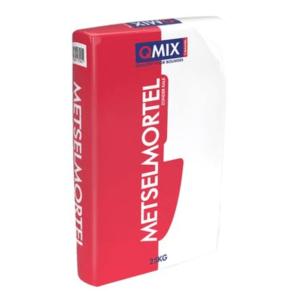 Metselmortel zonder kalk Q- mix M5 A/B zak à 25kg