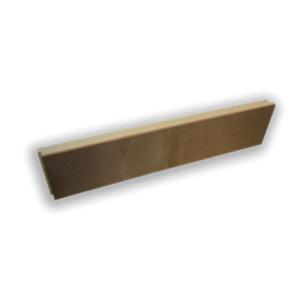 Styrodur isolerende kantplank 50/10mm 300x1250mm + sponning