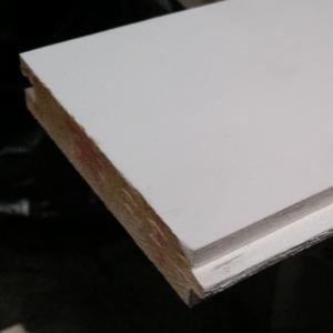 Vuren geschaafd geploegd 22x100mm vellingkant wit